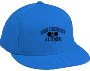 George E Washington Elementary School Flat Visor Caps