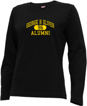 George H Oliver Elementary School Long Sleeve Shirts