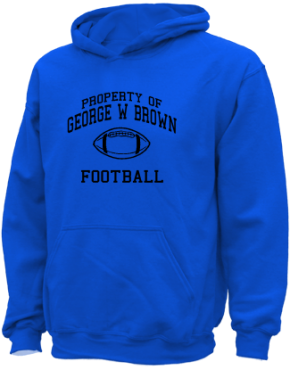 George W Brown Elementary School Kid Hooded Sweatshirts
