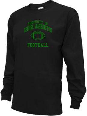 George Washington Middle School Kid Long Sleeve Shirts