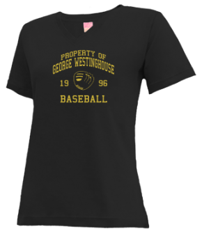 George Westinghouse High School V-neck Shirts