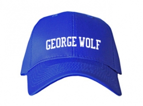 George Wolf Elementary School Kid Embroidered Baseball Caps