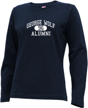 George Wolf Elementary School Long Sleeve Shirts