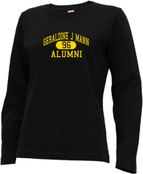 Geraldine J Mann Elementary School Long Sleeve Shirts