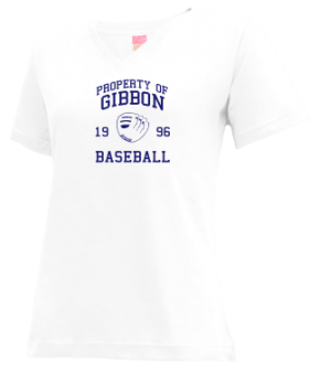 Gibbon High School V-neck Shirts