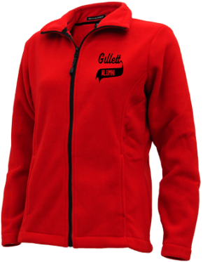 Gillett Elementary School Embroidered Fleece Jackets