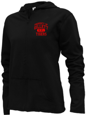 Gillett Elementary School Girls Zipper Hoodies