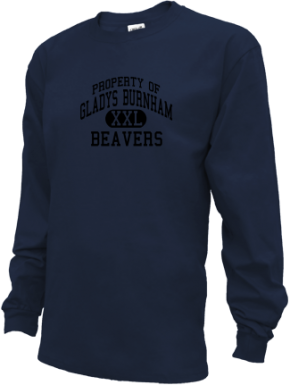 Gladys Burnham Elementary School Kid Long Sleeve Shirts
