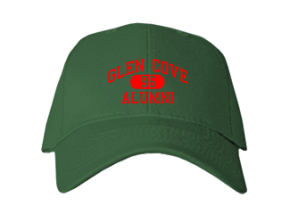 Glen Cove High School Embroidered Baseball Caps