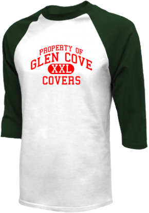Glen Cove High School Raglan Shirts