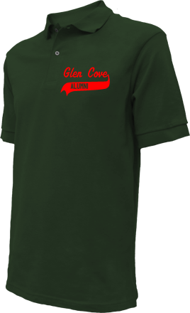 Glen Cove High School Embroidered Polo Shirts