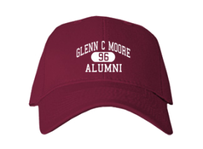 Glenn C Moore Elementary School Embroidered Baseball Caps