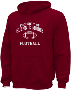 Glenn C Moore Elementary School Kid Hooded Sweatshirts