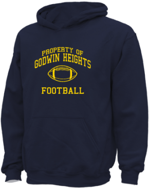 Godwin Heights High School Kid Hooded Sweatshirts