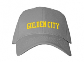 Golden City High School Kid Embroidered Baseball Caps