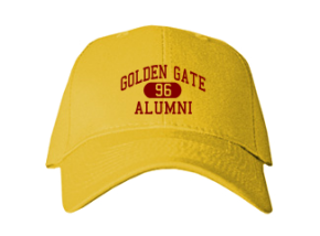 Golden Gate Middle School Embroidered Baseball Caps