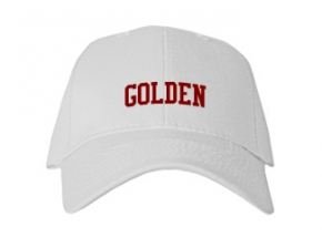 Golden High School Kid Embroidered Baseball Caps