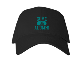 Gove Middle School Embroidered Baseball Caps