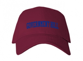 Government Hill Elementary School Kid Embroidered Baseball Caps