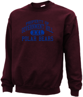 Government Hill Elementary School Sweatshirts