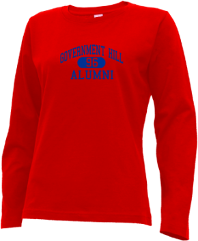 Government Hill Elementary School Long Sleeve Shirts