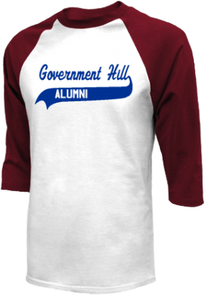 Government Hill Elementary School Raglan Shirts
