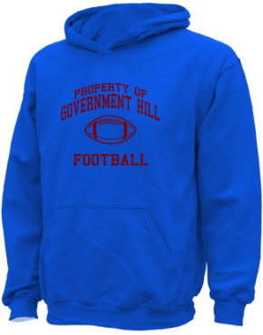 Government Hill Elementary School Kid Hooded Sweatshirts