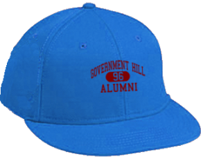 Government Hill Elementary School Flat Visor Caps
