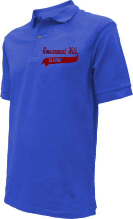 Government Hill Elementary School Embroidered Polo Shirts