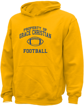 Grace Christian Elementary School Kid Hooded Sweatshirts