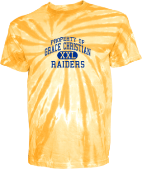 Grace Christian Elementary School Kid Tie-dye T-Shirts