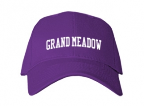 Grand Meadow High School Kid Embroidered Baseball Caps