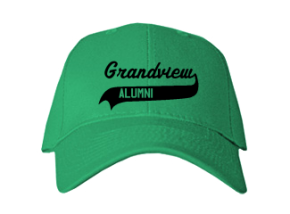 Grandview Elementary School Embroidered Baseball Caps