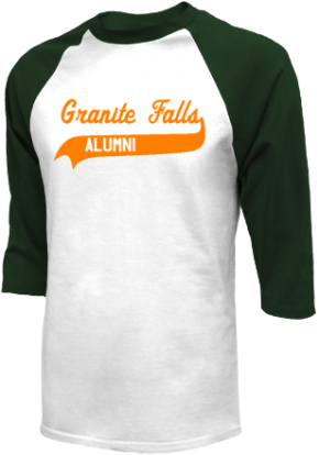 Granite Falls Middle School Raglan Shirts
