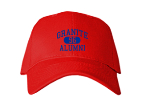Granite High School Embroidered Baseball Caps