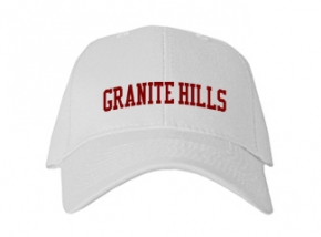 Granite Hills High School Kid Embroidered Baseball Caps