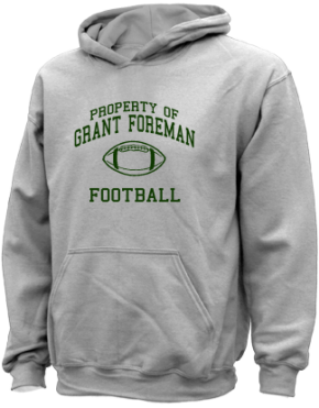 Grant Foreman Elementary School Kid Hooded Sweatshirts