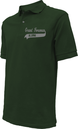 Grant Foreman Elementary School Embroidered Polo Shirts