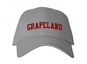 Grapeland High School Kid Embroidered Baseball Caps