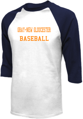 Gray-new Gloucester High School Raglan Shirts