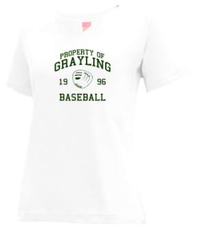 Grayling High School V-neck Shirts