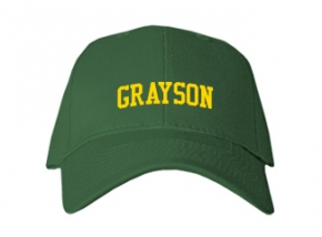 Grayson Elementary School Kid Embroidered Baseball Caps