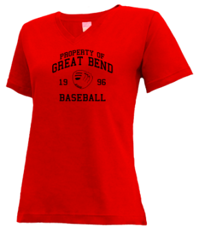 Great Bend High School V-neck Shirts