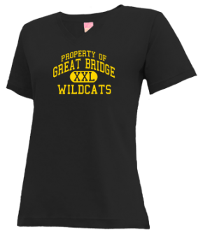 Great Bridge Middle School V-neck Shirts