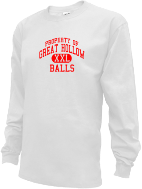 Great Hollow Middle School Kid Long Sleeve Shirts