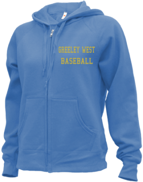 Greeley West High School Zip-up Hoodies