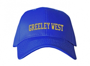 Greeley West High School Kid Embroidered Baseball Caps
