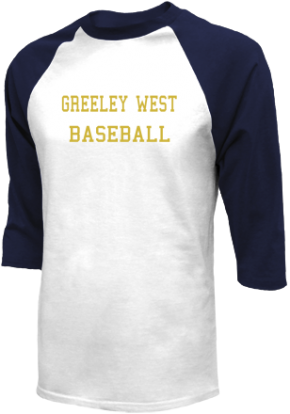Greeley West High School Raglan Shirts