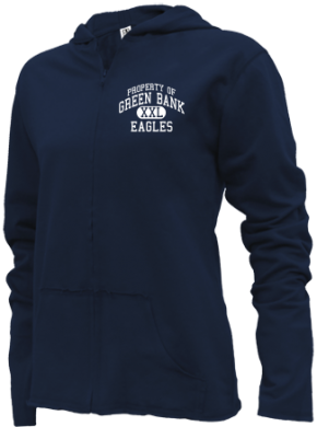 Green Bank School Girls Zipper Hoodies