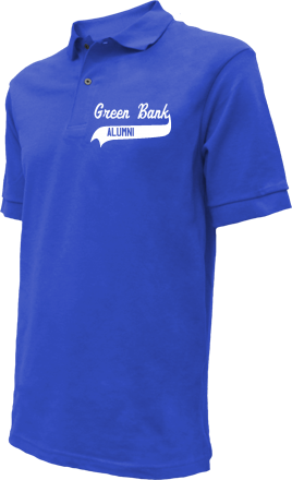 Green Bank School Embroidered Polo Shirts